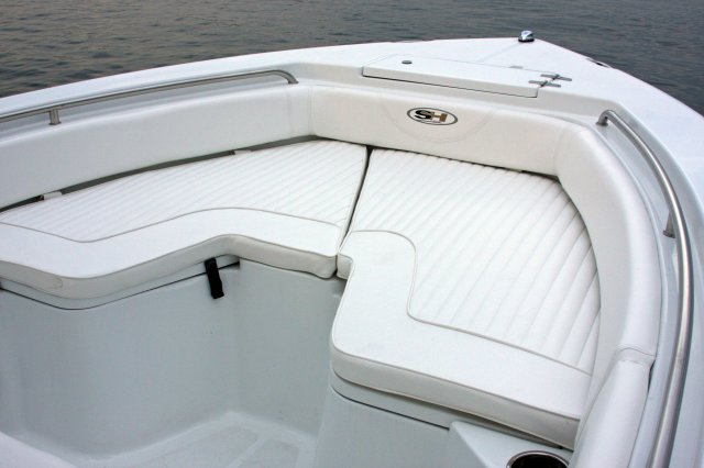 ... Center console is an open hull boat where the console of the boat is in ...