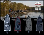Bass Xclusive Series available in 17, 19, and 21 foot Models