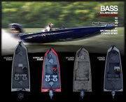 Bass Hyper-Lift Series is available in 17, 18, 20, and 22 foot models
