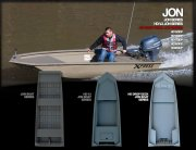 Jon Hd Drop Deck Series Available in 15, 16, 17, 18, and 19 Foot Models