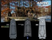 Hunting Bayou Series is Available in  16 and 18 Foot Models