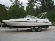 Pre-Owned 2002 Hurricane 232 Fun Deck for sale
