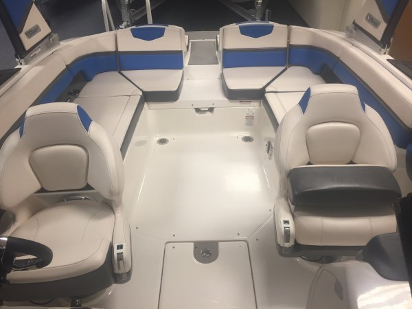 A 2430 VRX Jet Boat is a Power and could be classed as a Bowrider, Cruiser, Deck Boat, Dual Console, Freshwater Fishing, High Performance, Jet Boat, Sedan, Ski Boat, Wakeboard Boat,  or, just an overall Great Boat!