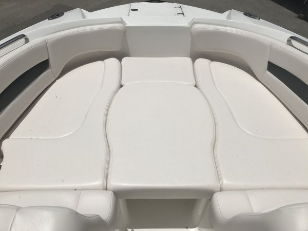 A Sedan is one with a closed cockpit. It has a full head, a galley, sleeping space. It is a good family boat for outings up to a couple of days. Express cruisers range from 25 feet to 45 feet.